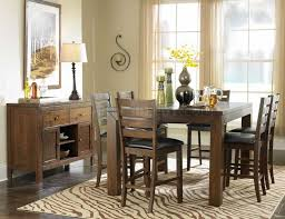 Costco Kitchen Table by Dining Tables Bar Height Table And Chairs 9 Piece Farmhouse