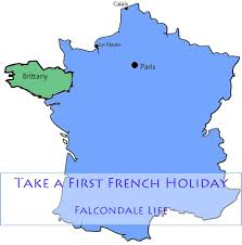Map Of Brittany France by Take A First French Holiday Falcondale Life