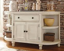 White Buffet Hutch Dining Room Storage Buffets U0026 Servers Ashley Furniture Homestore