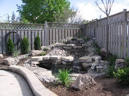 Backyard Waterfall Ideas Stylish Backyard Waterfall Ideas 50 Pictures Of Backyard Garden