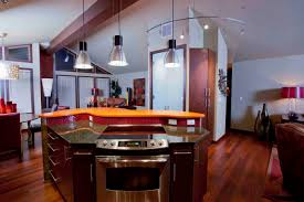 delighful kitchen island 2 levels inside design ideas
