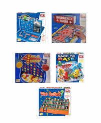 range of 5 family board games traditional kids classic multiplayer