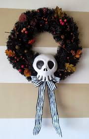 Holiday Wreath Ideas Pictures Diy Nightmare Before Christmas Halloween Props