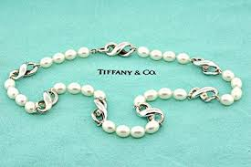 pearls necklace tiffany images Tiffany co rare vintage 1999 tiffany co infinity pearl jpg