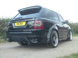 modified range rover the range rover sport modification kit by prestige