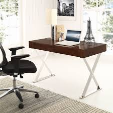 Modern Desk Office by Modway Sector Office Desk With Stainless Steel Frame Multiple