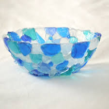 best decorative blue glass bowls products on wanelo