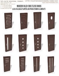 Exterior Flush Door Odern Interior Doors Modern Flush Doors Custom Doors And