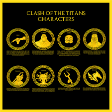 clash of the titans logo on behance