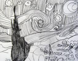 mrs levine u0027s art room fifth grade van gogh inspiration