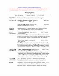 Write A Job Resume With No Work Experience For High Students College Applications St Job Objective St