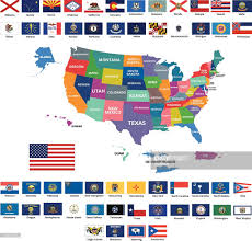American State Flags United States Flag Map By Heersander On Deviantart Us State Flags
