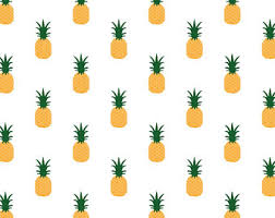 pineapple wrapping paper wrapping paper etsy