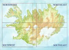 iceland map iceland buy maps and travel guides