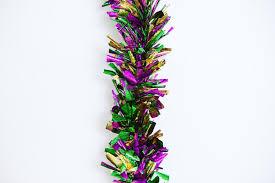 jumbo mardi gras 9 mardi gras jumbo twig garland the mardi gras collections