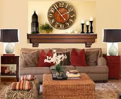 living room shelf clock attractive living room shelves furniture
