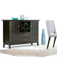 sideboard cabinet with wine storage server buffet server wine storage and buffet found it at buffet