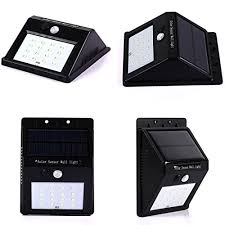 solar lights apolled 16 led outdoor wireless solar energy powered