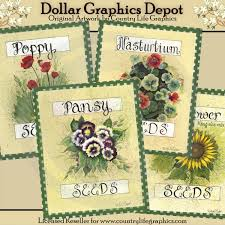 flower seed packets flower seed packets 1 00 dollar graphics depot quality