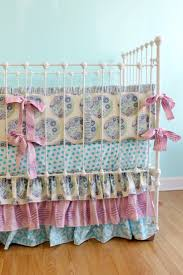 Nursery Bedding For Girls 49 Best Crib Images On Pinterest Baby Room Babies Nursery And