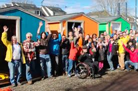 othello village tiny homes are now open for homeless residents