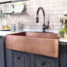 Copper Kitchen Faucet Antique Copper Kitchen Faucet Pull Out Sink Farmhouse Sinks