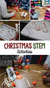 smiling and shining in second grade christmas stem activites