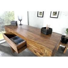 bureau chene massif moderne bureau massif moderne bureau moderne 100 cm a 1 tiroir en bois