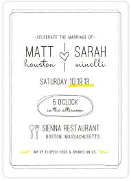 wedding reception invitation wording after ceremony reception invitation wording after wedding wedding