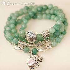 bracelet natural stone images Wholesale natural stone bracelets for women fish elephant new jpg