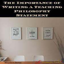 the 25 best teaching philosophy statement ideas on pinterest