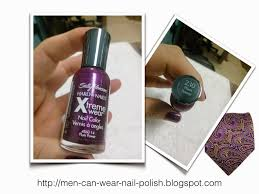 men can wear nail polish sally hansen 230