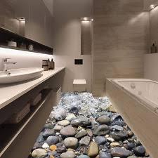Stone Floor Bathroom - floor decal ebay