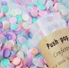 shop push pop confettti baby shower birthday