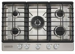 stove top contemporary kitchen with stainless steel black free standing