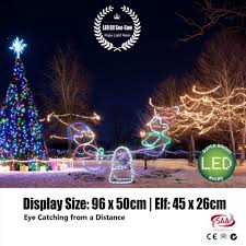 outdoor elf light laser projector christmas elfhristmas lights outdoor led light neon see saw