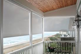 Roll Up Outdoor Blinds Ideal Choice Of Outdoor Blinds For Your Screened Porches