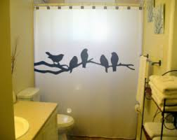 Curtains Birds Theme Unique Shower Curtains Custom Unusual By Customshowercurtains