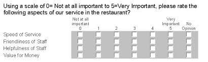 survey ranking questions vs rating questions