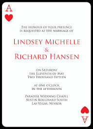 vegas wedding invitations las vegas wedding invitations card with back