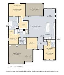 Florida Floor Plans Single Family Homes At Bridgetown At The Plantation Real Estate