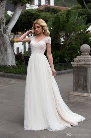 wedding dress discount discount boho wedding dress v neck corset back beaded top luxury