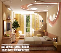 bedroom modern pop false ceiling interior bedroom gypsum ceiling