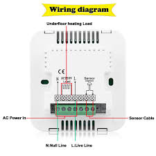 heatmiser underfloor heating wiring diagram heatmiser neo wiring