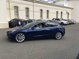 new tesla model 3 photos show us the clearest view yet of the