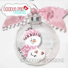 expecting ornament snowman ornament personalized