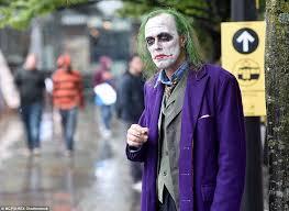 Heath Ledger Joker Halloween Costume Comic 2015 Sees Fans Cosplay Favourite Superheroes