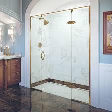 5 Shower Door Preceria Frameless 5 16 Inch Glass Panel Swing Basco Shower Doors
