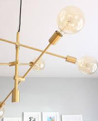 Modern Dining Room Light Fixture by Design Evolving Mid Century Modern Dining Room U0026 My New Light