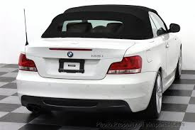 bmw convertible 1 series 2012 used bmw 1 series certified 135i m sport convertible